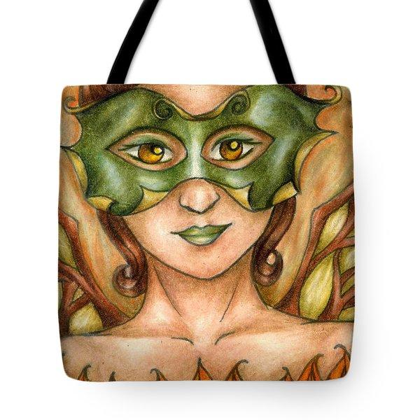 Autumn Tree Sprite Art Tote Bag