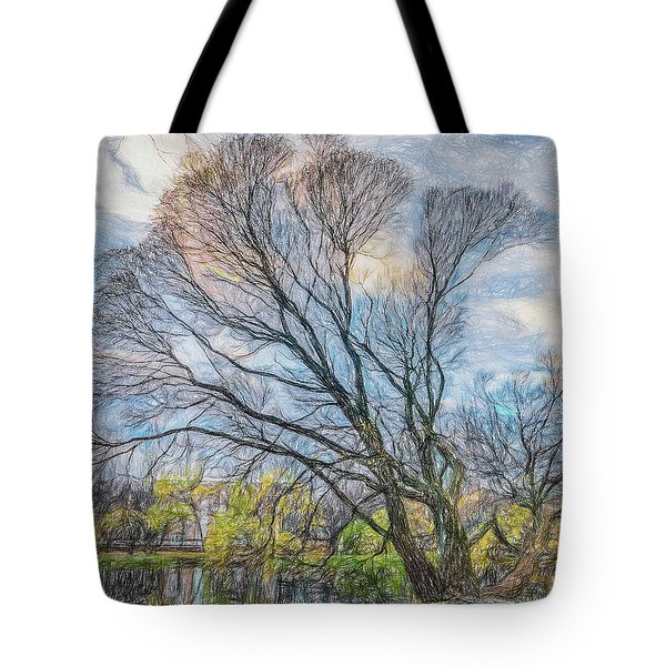Tote Bag featuring the photograph Autumn Tree by Vladimir Kholostykh