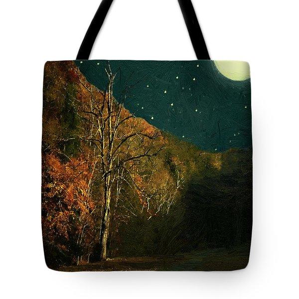Autumn Tunnel Tote Bag