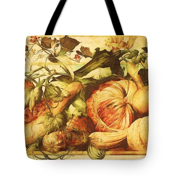 Autumn Vegetable Harvest  Tote Bag