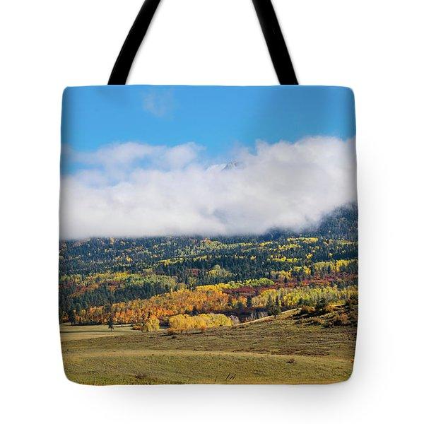 Autumn Veil Tote Bag