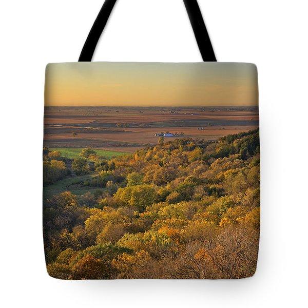 Autumn View At Waubonsie State Park Tote Bag