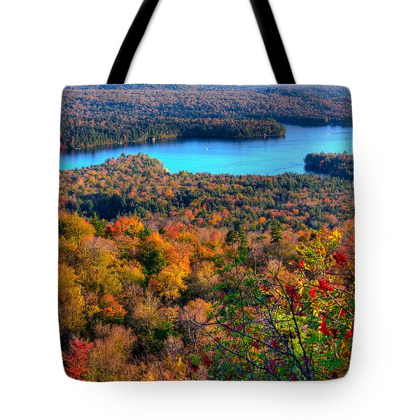 Autumn View From Bald Mountain Tote Bag