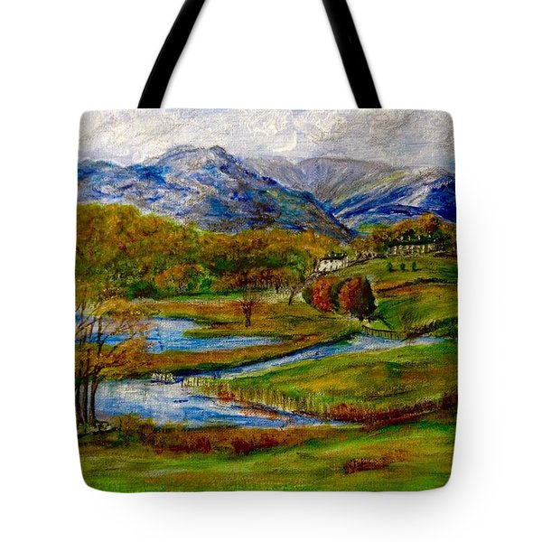 Autumn View Of The Trossachs Tote Bag