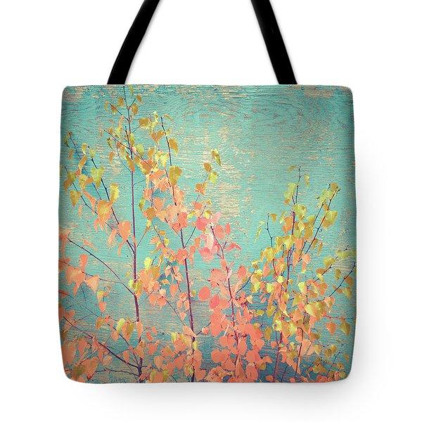 Autumn Wall Tote Bag
