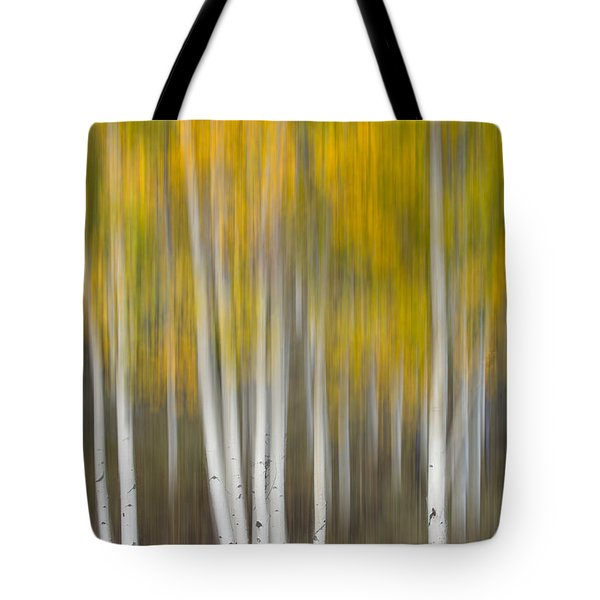 Tote Bag featuring the photograph Autumn Was A Blur by Patricia Davidson