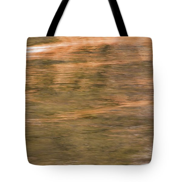 Tote Bag featuring the photograph Autumn Water by Britt Runyon