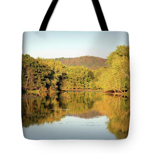 Autumn Water Tote Bag