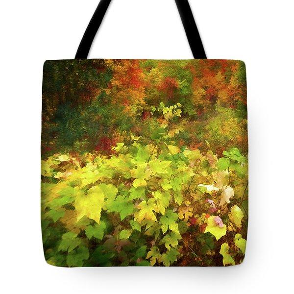 Autumn Watercolor Tote Bag