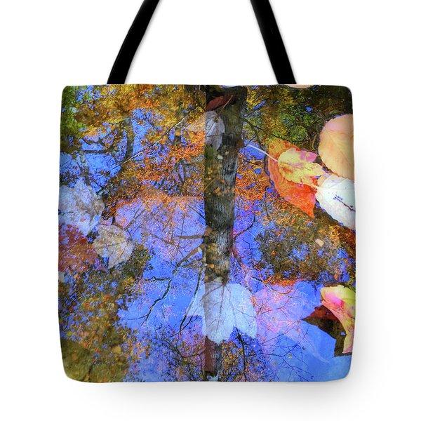 Autumn Watermark Tote Bag