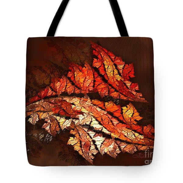 Autumn Wind Tote Bag by Jutta Maria Pusl