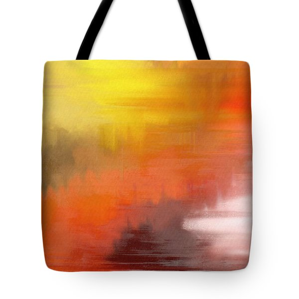 Autumnal Abstract  Tote Bag