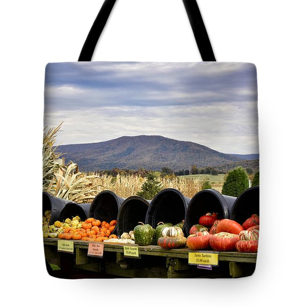Autumnal Abundance In The Blue Ridge Mountains - Virginia Tote Bag by Brendan Reals