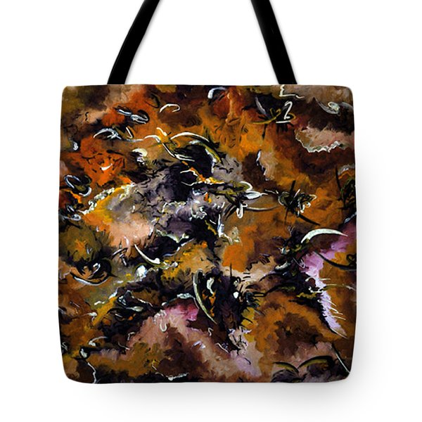 Autumnal Cut Tote Bag by Carmen Fine Art