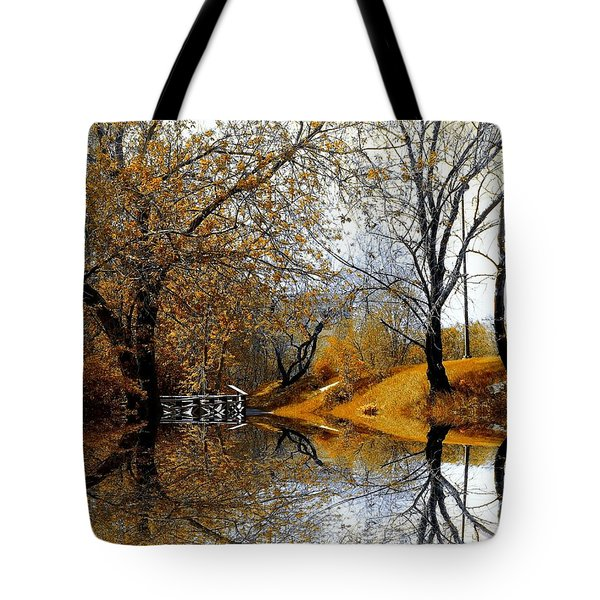Autumnal Tote Bag by Elfriede Fulda