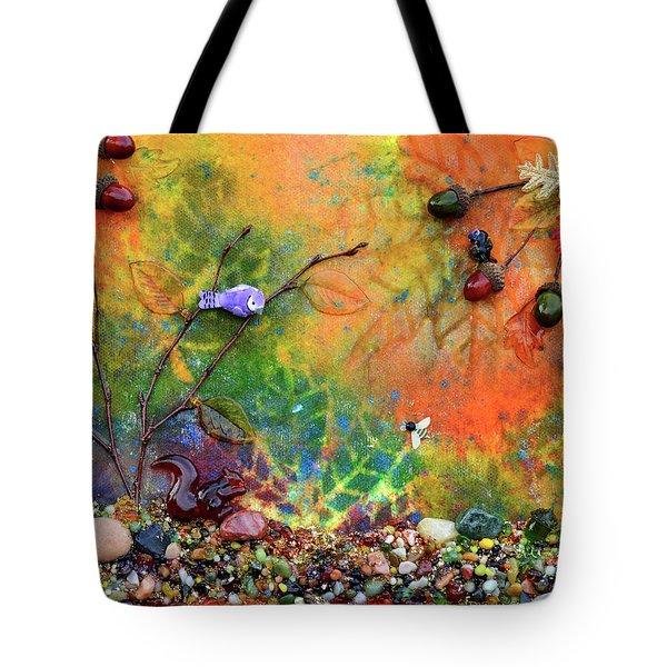 Autumnal Enchantment Tote Bag