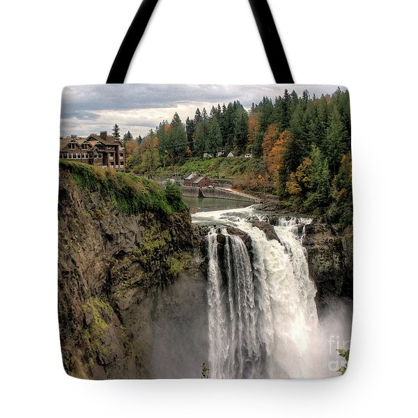 Autumnal Falls Tote Bag by Chris Anderson