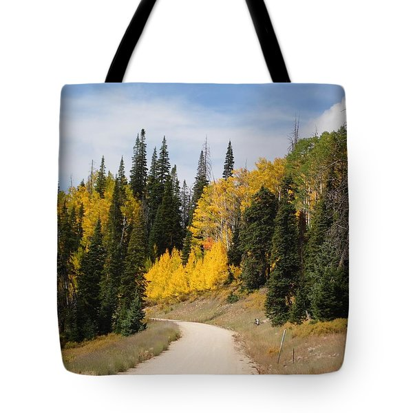 Tote Bag featuring the photograph Autumnal Forest-dixie National Forest Utah by Deborah Moen