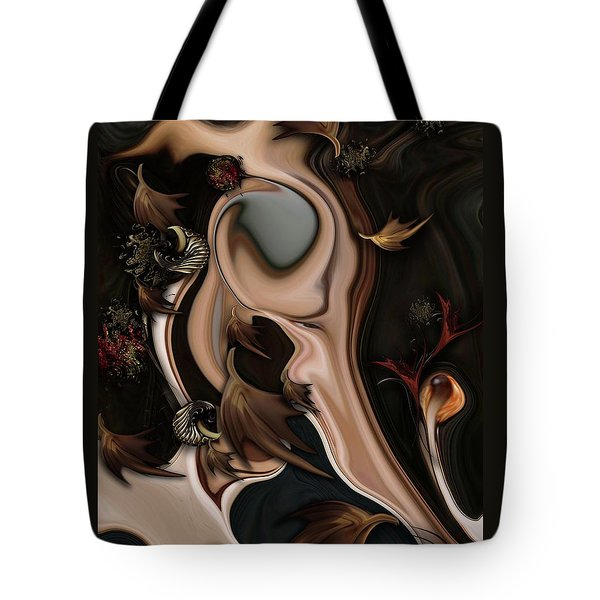 Autumnal Material Tote Bag by Carmen Fine Art