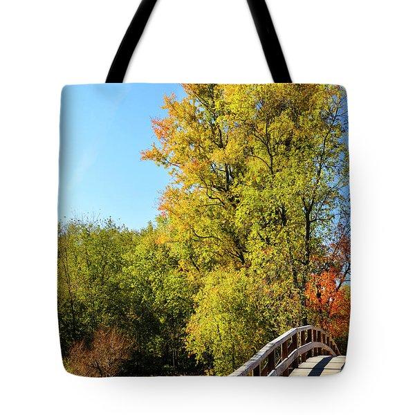 Autumnal North Bridge Tote Bag