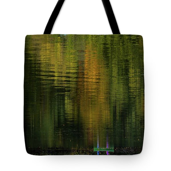 Autumnal Reflections Tote Bag