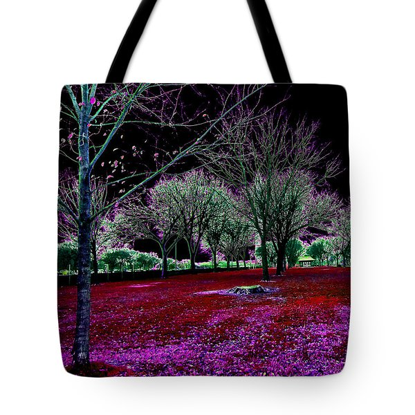 Autumnal Reversography Tote Bag