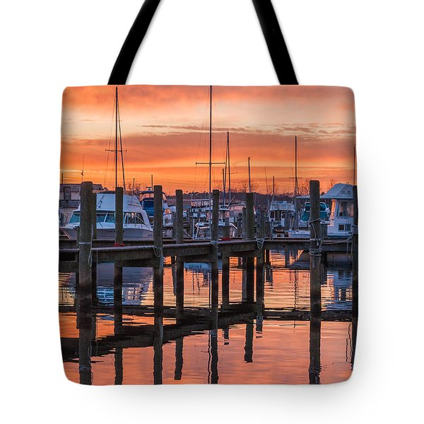 Autumnal Sky Tote Bag