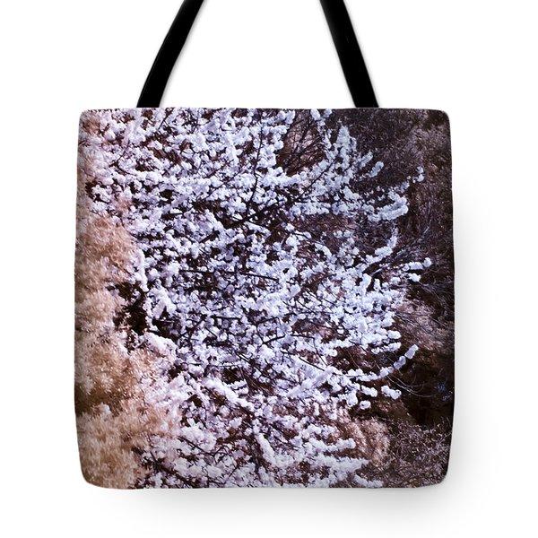 Autumnal Spring In London Tote Bag by Helga Novelli