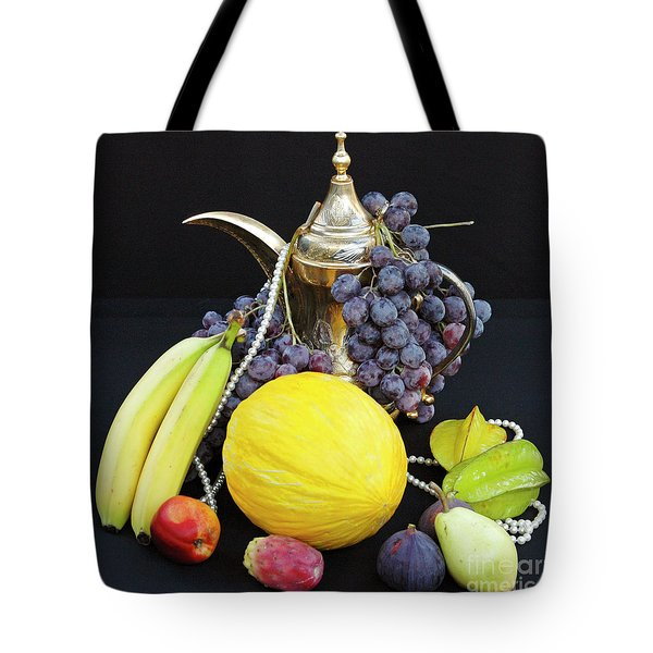 Tote Bag featuring the photograph Symphony Of Forbidden Fruits by Silva Wischeropp