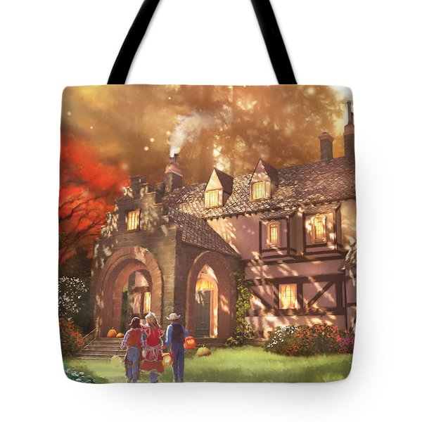 Autumnhollow Tote Bag