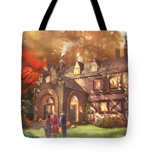 Autumnhollow Tote Bag