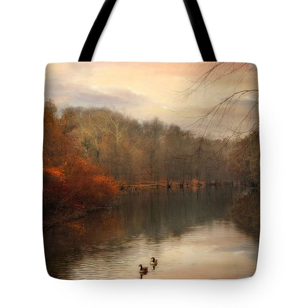 Autumn's Ebb Tote Bag by Jessica Jenney