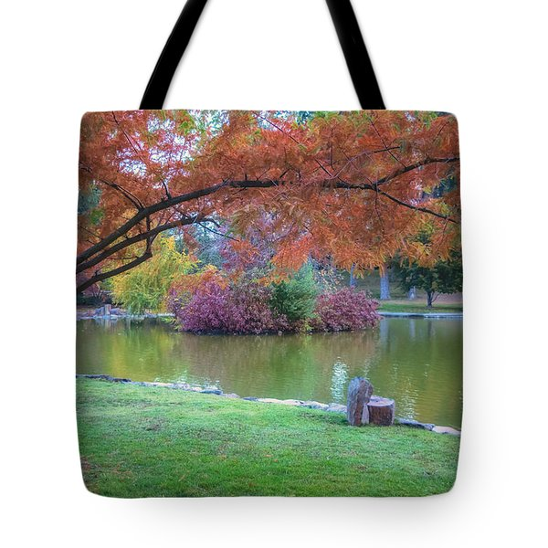 Autumn's Embrace Tote Bag