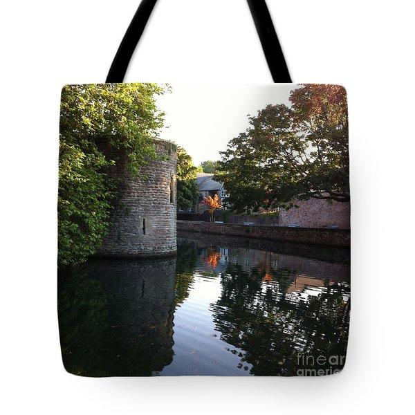 Autumn's Flame Tote Bag