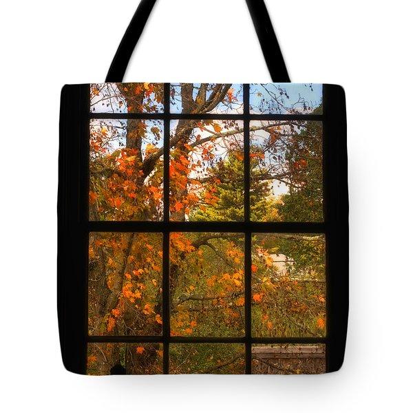 Autumn's Palette Tote Bag by Joann Vitali