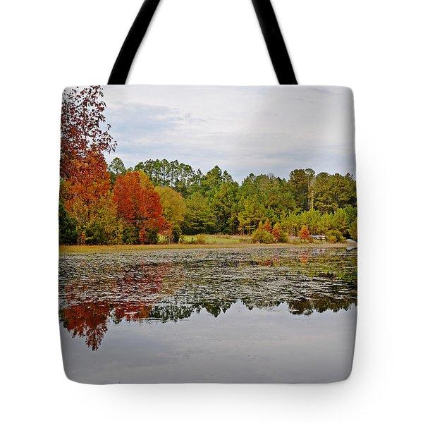 Autumn's Splendor Tote Bag by Linda Brown