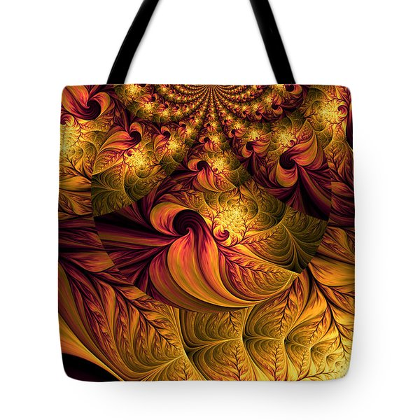 Autumns Winds Tote Bag