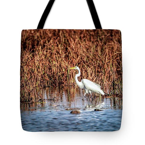 Autumn's Shore Tote Bag