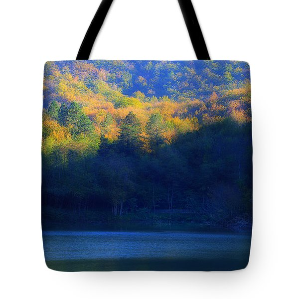 Tote Bag featuring the photograph Autunno In Liguria - Autumn In Liguria 2 by Enrico Pelos