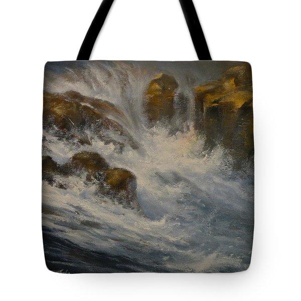 Avalanche Falls Tote Bag by Mia DeLode