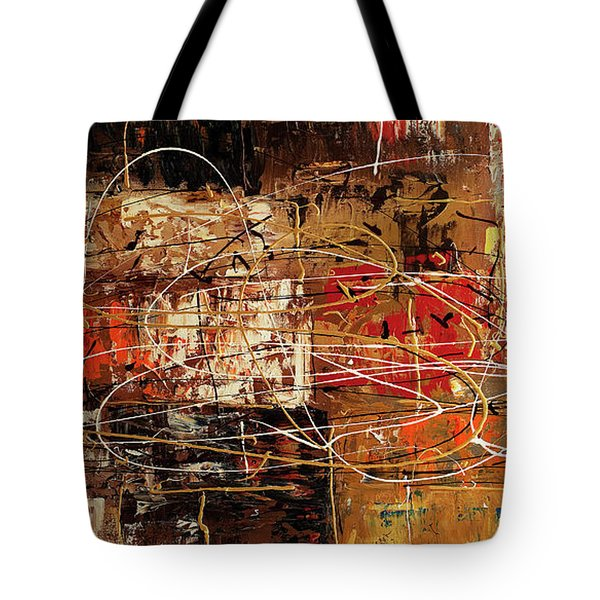 Tote Bag featuring the painting Avant Garde by Carmen Guedez