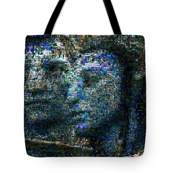 aef8e9531d17dd Avatar Shocking Blue Mosaic Tote Bag Avatar Shocking Blue Mosaic. Paul Van  Scott