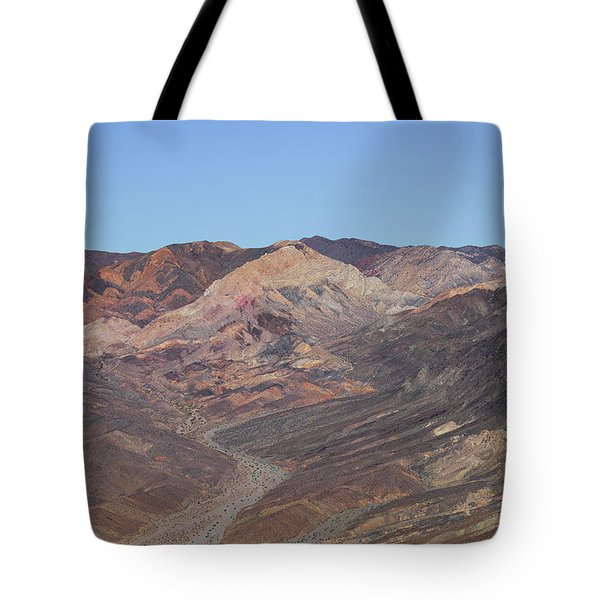 Tote Bag featuring the photograph Avawatz Mountain by Jim Thompson