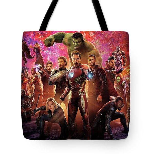 Avengers Infinity War Tote Bag