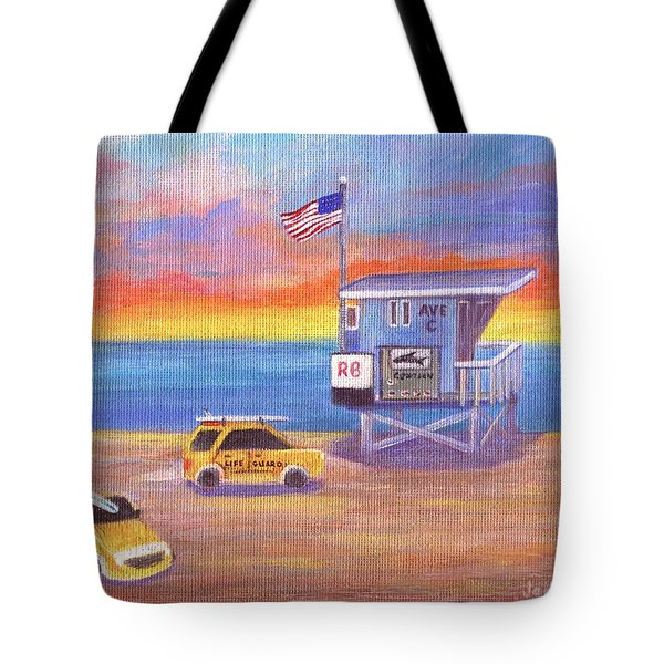 Tote Bag featuring the painting Avenue C by Jamie Frier