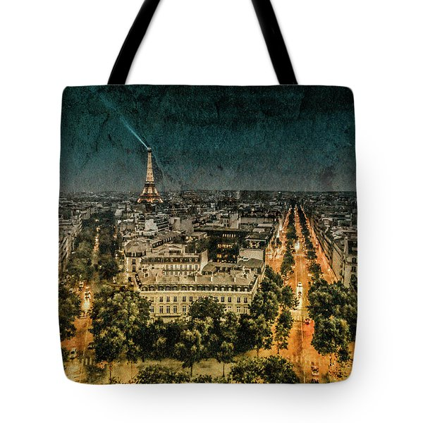 Paris, France - Avenue Kleber Tote Bag