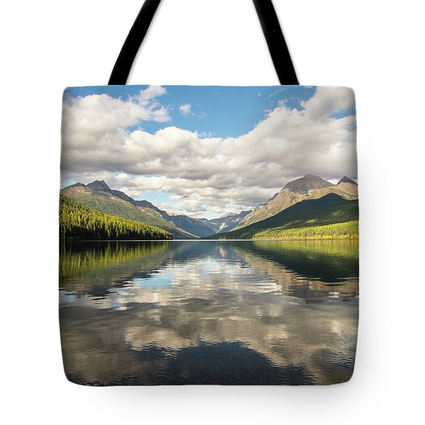 Avenue To The Mountains Tote Bag