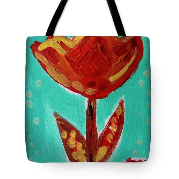 Avis-flowers From The Flower Patch Tote Bag by Mary Carol Williams
