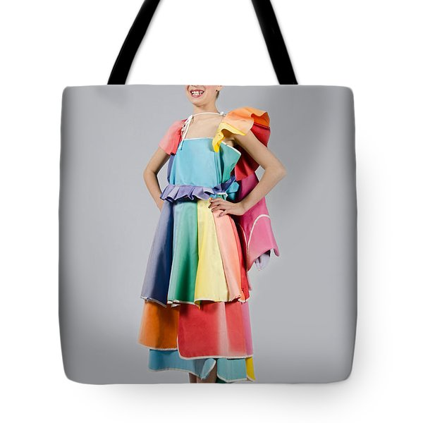 Aviva In Patio Umbrella Dress Tote Bag