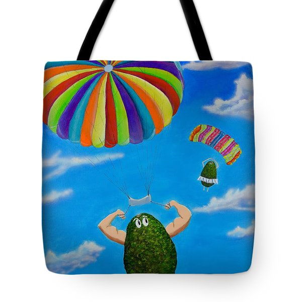 Avocado's From Heaven Tote Bag